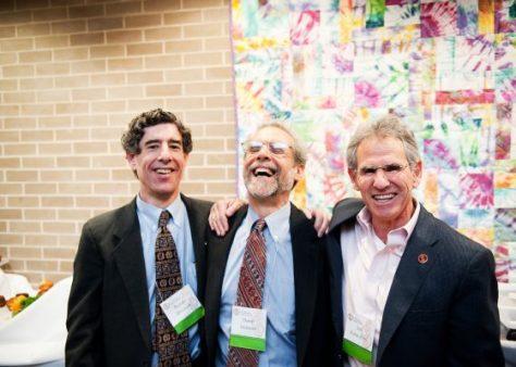 Richard Davidson, Daniel Goleman i Jon Kabat-Zinn. Photo:tricycle.org